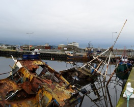 Overworked beyond repair... a sorry state of affairs! Down Arklow Harbour way...