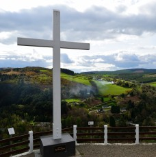 The Miner's Cross, Avoca, Co Wicklow... a timely reminder of Easter...