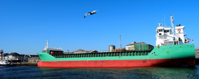 Another angle... Arklow Fortune... at home on 03 May 2017