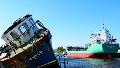 Old and not o old - Arklow Fortune... at home on 03 May 2017