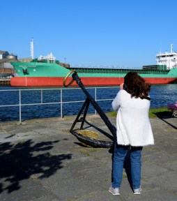 Arklow Fortune... at home on 03 May 2017 - I onder here I've een that lady before?? GL doing her bit...