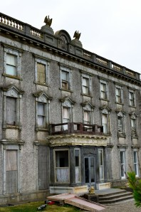 Those eagles... eerie... Loftus Hall, Co Wexford, Ireland