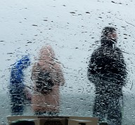 What's going on out there in the rain? Hook Peninsula, Co Wexford