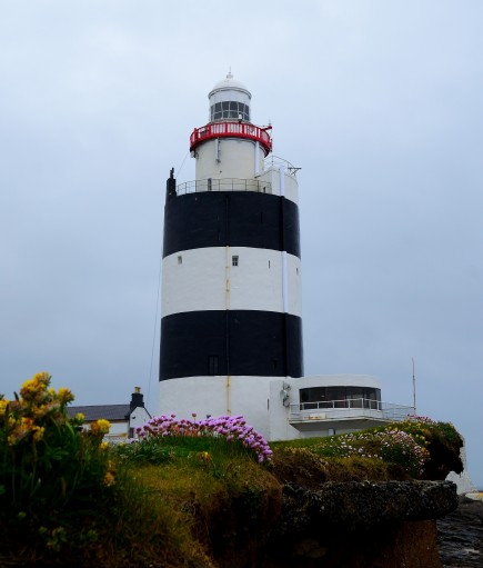 Hook Lighthouse on a grey... wet, rainy day!