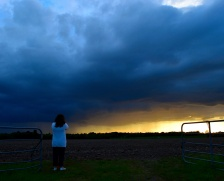 The storm's approaching... not too distant?