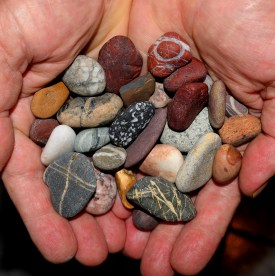 Individual thoughts... precious memories. A pocket full of pebbles!