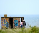 Part of the ART? JS&L at the Kilmichael Point look out hut!