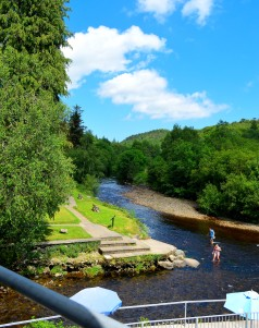 Fathers Day 2017 lunch... glorious sunshine day at the Meeting of the Waters, Avoca, Co Wicklow, Ireland. Almost heaven!