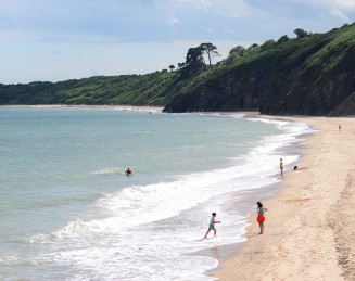 Happy sunny beach fun just south of Arklow, Co Wicklow, Ireland!