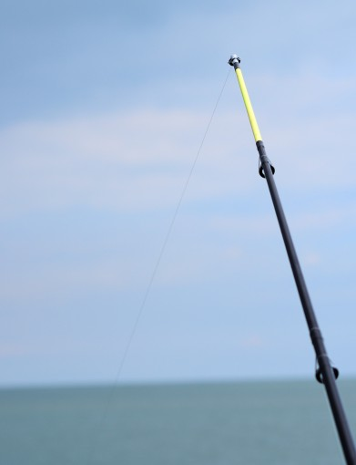 Yep... that's MY rod tip! First cast into an Irish coastal water since arriving in Ireland almost 17 years ago!