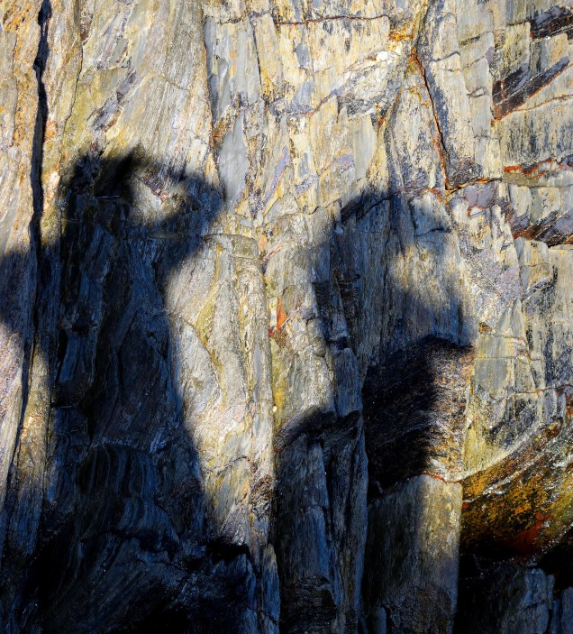 Shadow land... snapping one's own shadow!