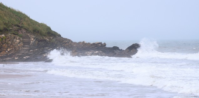 Waves crashing! Where do those stares go? Cahore Point, Co Wexford, Ireland!