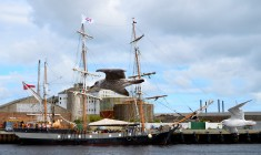 The Earl of Pembroke moored at Arklow, Co Wicklow, Ireland! She's a beauty!