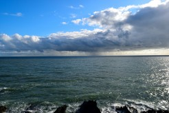 A storm in a teacup... no, out on the Irish Sea...