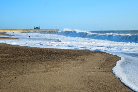 The morning after... Arklow's South Beach in the sunshine. Ophelia who?? 5