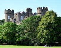 Summer bliss... chilling out on the lawns of Malahide Castle, Dublin, Ireland
