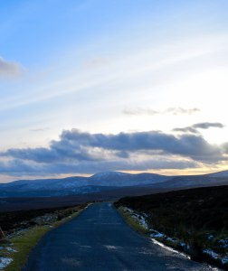 Looking south... where's the summer? Travelling Co Wicklow's Sally Gap... Friday afternoon de-stressing exercise