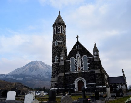 Mt Errigal.. Co Donegal's highest peak...