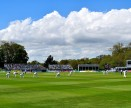 Play during the first session of Ireland's first cricket test... bliss! Malahide CC, Co Dublin, Ireland