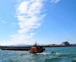 Summer fun... Arklow style! The RNLI has to help too!