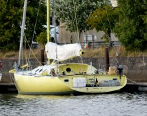 Yellow... moored on the Avoca River, Arklow