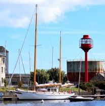 American yacht visiting Arklow, Co Wicklow, Ireland!