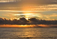 Stunning October Irish Sea sunrise... as seen from a beach south of Arklow, Co Wicklow, Ireland!