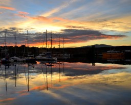 "Autumn Arklow afternoon... stunning ""seascape"" ... harbour sunset!"