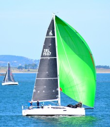 Autumn sailing in Arklow Bay - too green?