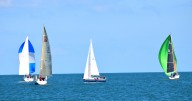 Autumn sailing in Arklow Bay - all over