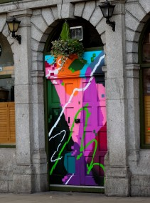 Somewhere on Dublin's North Side... bright is beautiful...