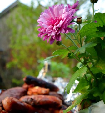 BBQ bouquet... yes, truly... look closely! 😃