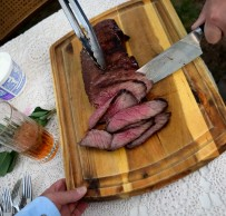 Cutting the cow...